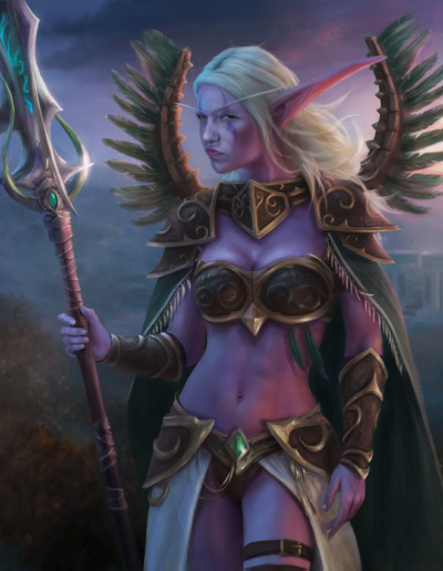Photoshop Night Elf