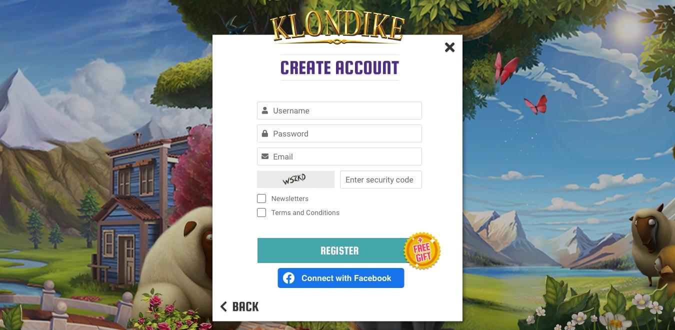 GD+ FTUE Flow UI - Create Account Screen