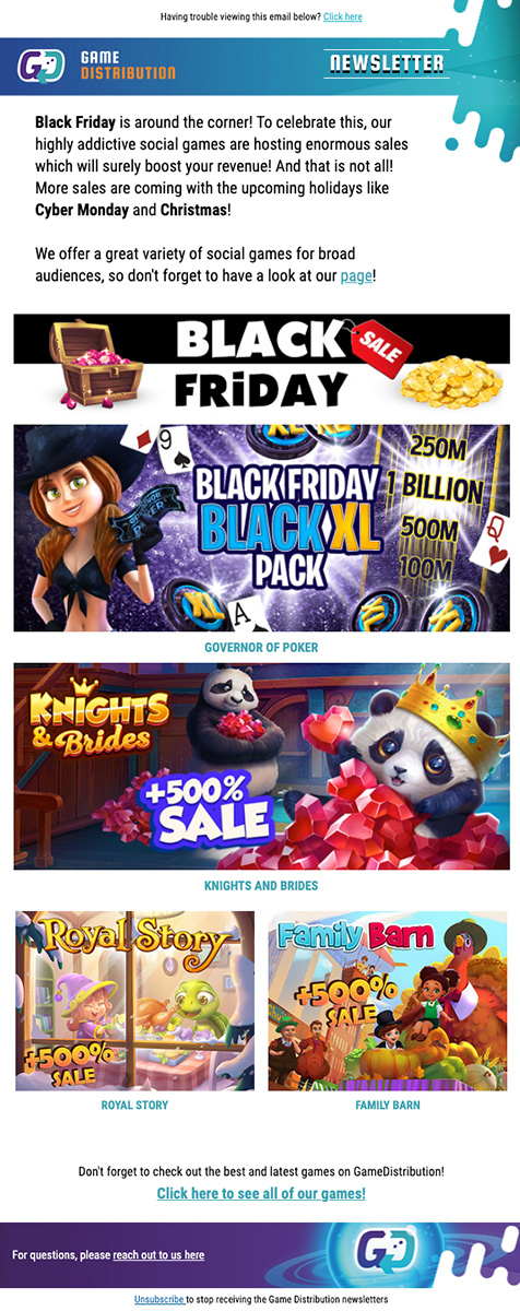 Email Black Friday