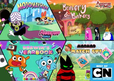 Cartoon Network Banners