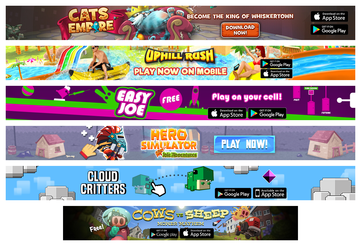 Mobile Apps Portal Promotion Collage